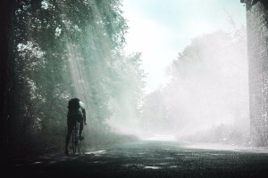Person biking. Photo by: Rikki Chan via unsplash https://unsplash.com/photos/_k31aFqnmTM